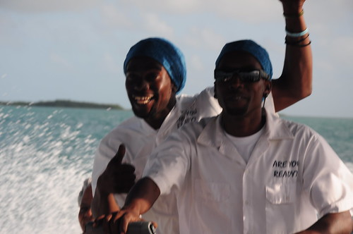 Wayne and Andre kept up a running and hilarious commentary for the whole trip. Loved their matching do-rags.