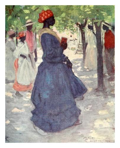 011- Camino de la Iglesia en Jamaica-The West Indies 1905- Ilustrations Archibald Stevenson Forrest