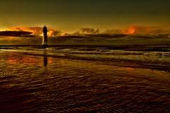 Winter Solstice (Tony Shertila) Tags: sunset england lighthouse weather europe day cloudy britain wintersolstice wallasey wirral 1000views newbrighton irishsea topseven yahooweather scenicsnotjustlandscapes mygearandme