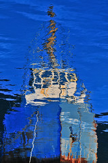le bateau de Monet (ericbarry) Tags: boat nikon impressionist waterreflection seatosky colorart britanniabeach colorphotoaward