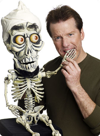 jeff dunham puppets names. Jeff Dunham and Achmed big