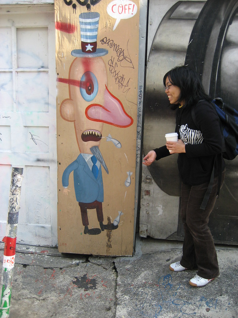 Street Art/Graffiti in Mission District, San Francisco