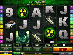 Incredible Hulk slot game online review