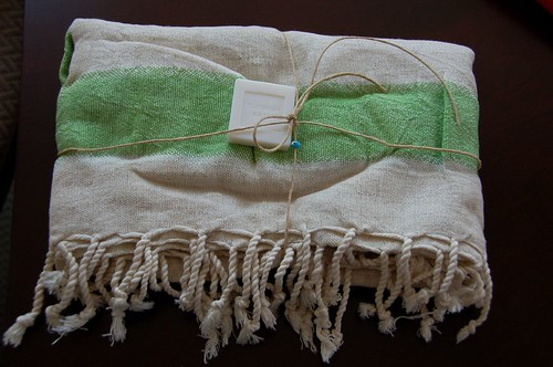 Turkish bath towel!
