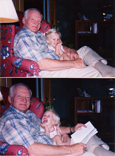 bridgie & opa june 97