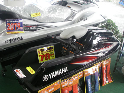 ヤマハ 水上バイク