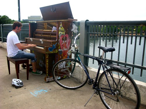 Play Me I'm Yours: Austin Public Piano Installation