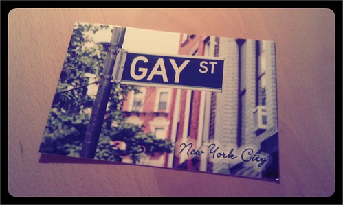 Post aus New York.