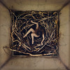 remain (brookeshaden) Tags: brookeshaden fineartphotography conceptualart sticks nest bird fallen remain selfportrait