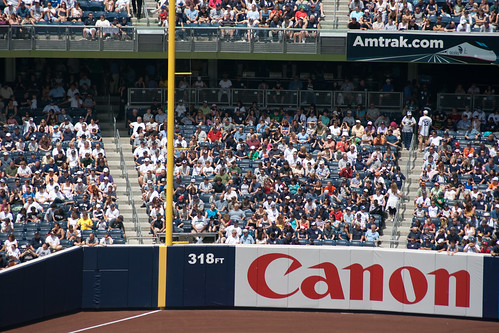The 318 ft Foul Line: Sponsored by Canon