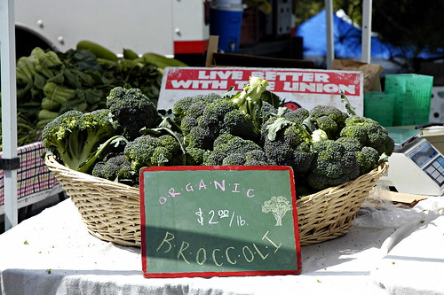 Local Organic Broccoli