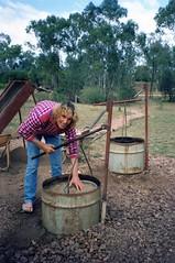 920610 Sapphires (rona.h) Tags: june caroline australia 1992 debbie greatbarrierreef cacique sapphires ronah rubyvale vancouver27 bowman57