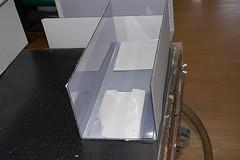 塩ビ透明板什器4