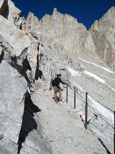 The Cables on Mt. Whitney Trail