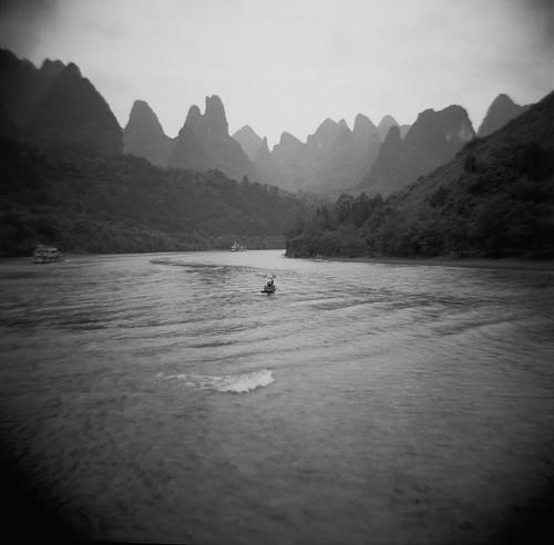 Li River with a Diana