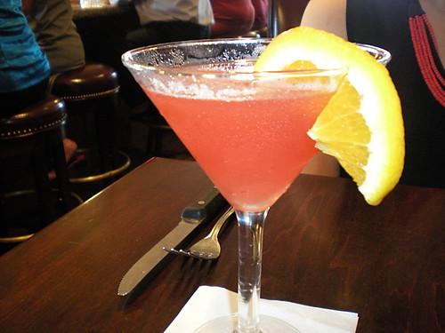 Mel C's melon martini.