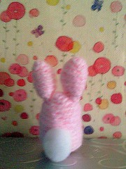 bunny pink (back-flower bg)