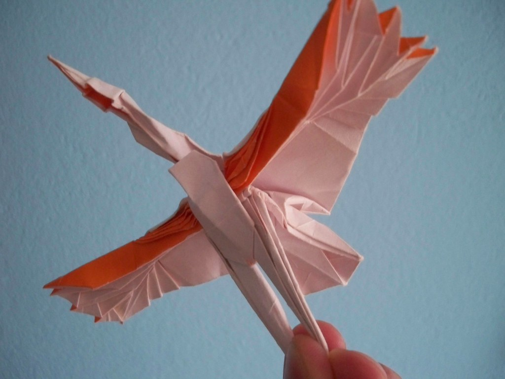 how to make a flying crane