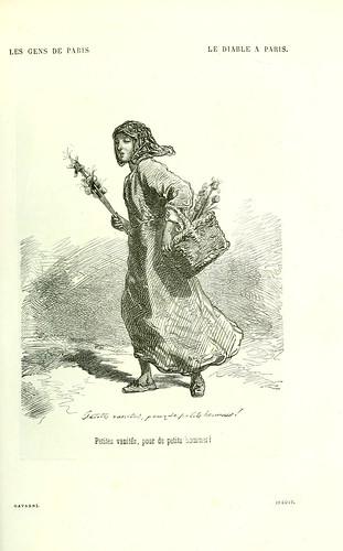 012-Pequeñas vanidades para hombres pequeños-Dibujo de Gavarni