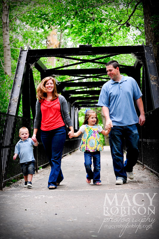 A.P. Family on the Bridge