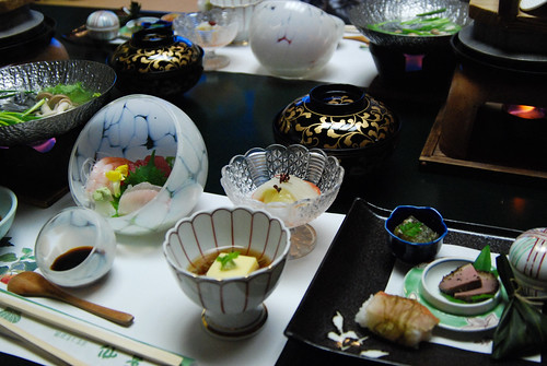 Ryokan: Dinner