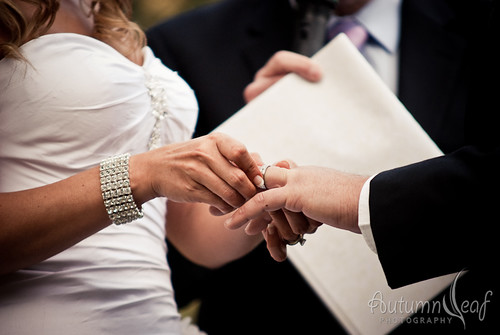 Mandi and Pierre - With this ring, I thee wed