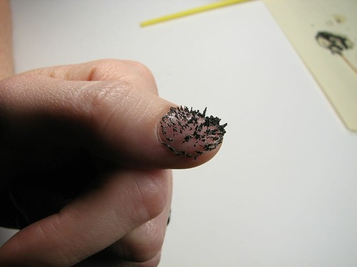 spiky nail polish