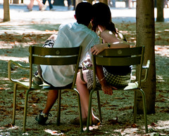 Parc (AwesomeLooser) Tags: park paris france french jardin lovers luxembourg amoureux
