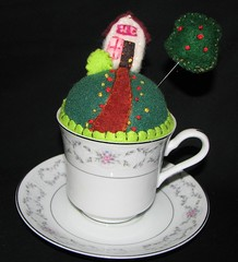 Tiny World Pincushion