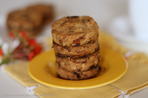 Date & Walnut Cookies