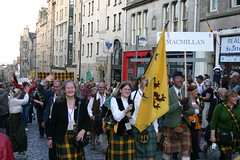 Clan MacMillan - The Clan Parade - The Gathering 09
