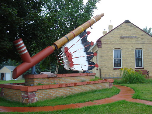 World's Largest Peace Pipe