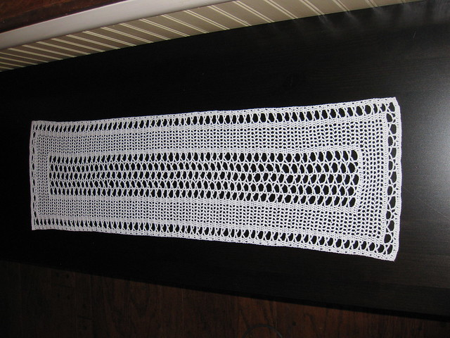 1935 Vintage Table Runner