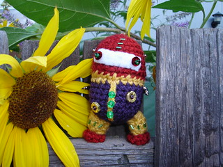 Crobots: 20 Amigurumi Robots to Make by Pailloux, Nelly