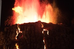 Erupting Volcano at the Mirage