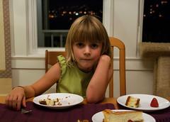 Girl vs. Dessert
