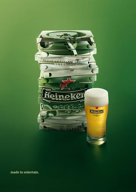 Image selected for Cool Beer Ads #1 - Heineken