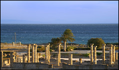Baelo Claudia (Angie Zu Heltzer) Tags: ocean espaa mar andaluca spain ruins roman andalucia espana ruinas cadiz claudia cdiz tarifa atlantico andalousia romanas baelo campodegibraltar
