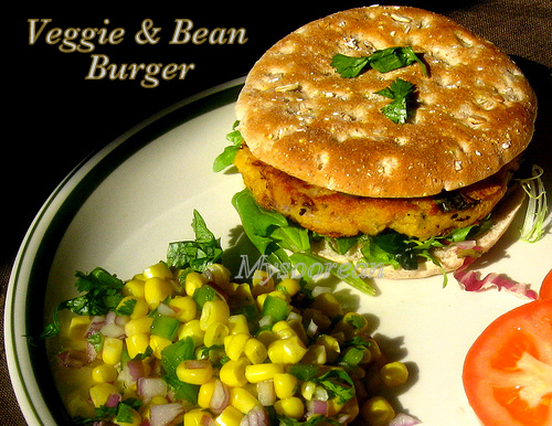 Veggie and Bean Burger