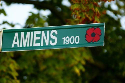 WWI & II Windsor Streets - Amiens