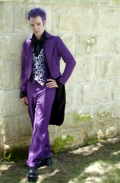 purple suit freak