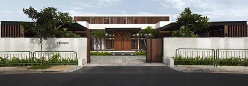 Rumah ekologi tema Modern House Design