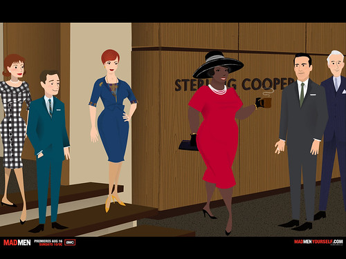 Oprah in a Mad Men world