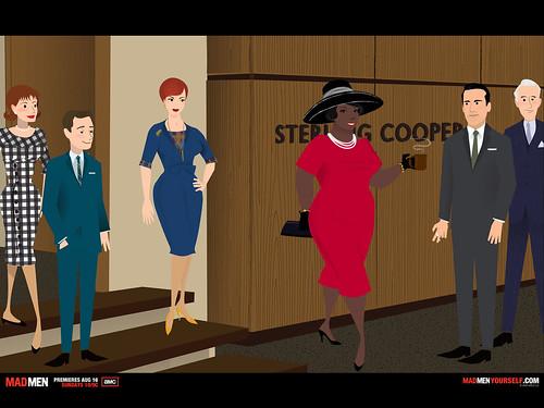 Oprah in a Mad Men world