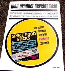 Food Product Developement magazine - April 1970 - Space Food Sticks (mankatt) Tags: food vintage magazine sticks graphics space images retro april boxes products 1970 pillsbury pacakging foodproductdevelopement