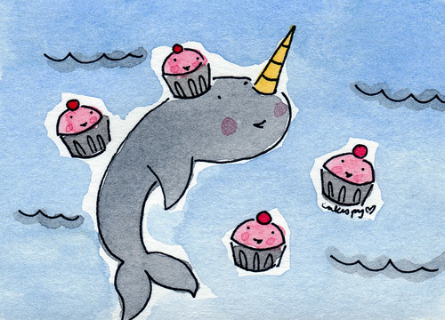 Cupcakes and Narwhal