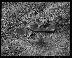 Found Shoes (NoJuan) Tags: shoes pentax6x7 tmy120