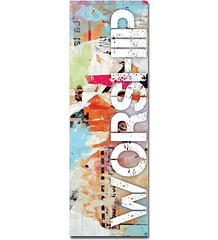 Worship Vintage - NDS06 (Amplify Designs) Tags: church youth religious worship grunge religion banner christian sing designs banners rejoice praise groups churchbanners