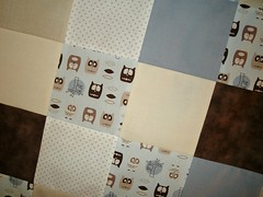 Cot Quilt for Baby Boy