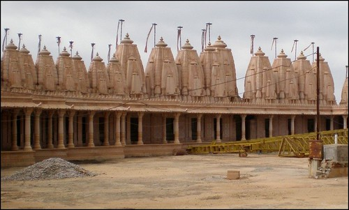 Jain Temple Built in Rajasthan Style